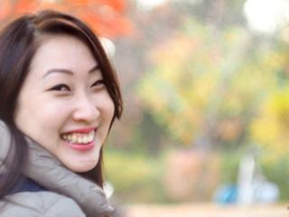 Portrait at Nami Island, Seoul, South Korea