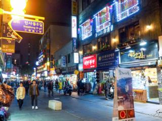 Insadong, Seoul, South Korea.