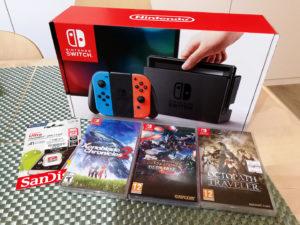My Nintendo Switch Haul