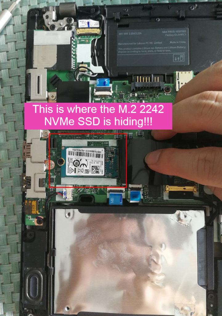 Lenovo Thinkpad T480 SSD Upgrade